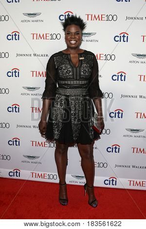 Leslie Jones attends the Time 100 Gala at Frederick P. Rose Hall on April 25, 2017 in New York City.