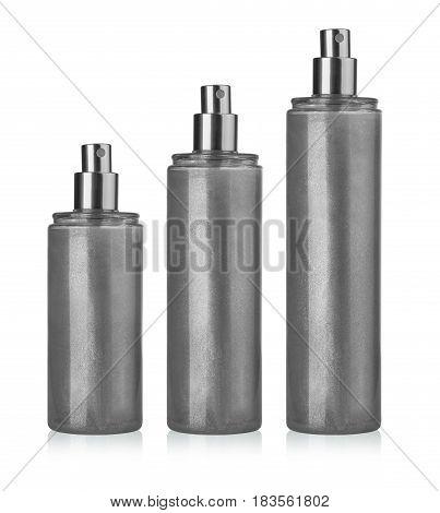 Blank spray can template for paint hairspray deodorant