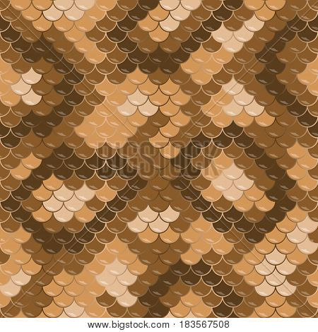 Seamless Lizard Skin Pattern