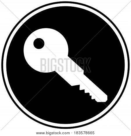 A vector illustration of a Locksmith icon.