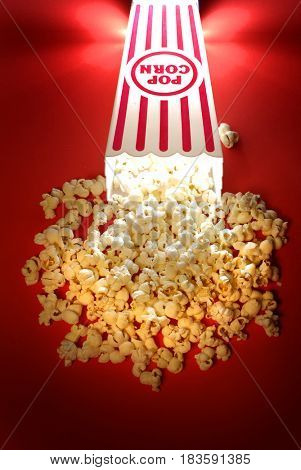 Popcorn snack from a movie theater