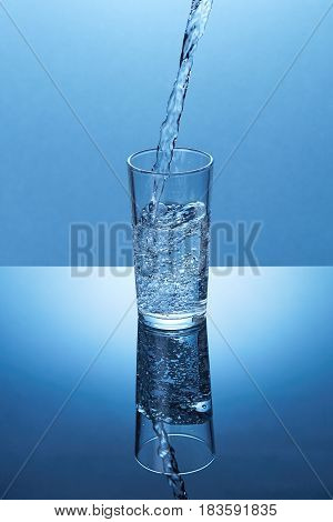 Health And Diet Concept. Healthy Lifestyle. Healthcare And Beauty. Hydratation. Drink Water.