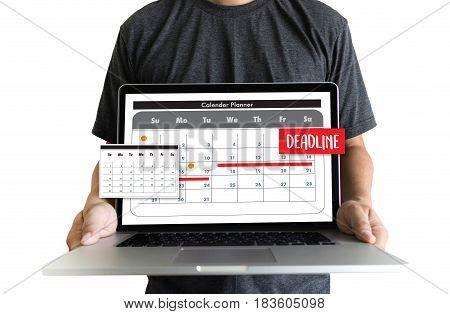 Calendar And Deadline Planner Organization Management Remind
