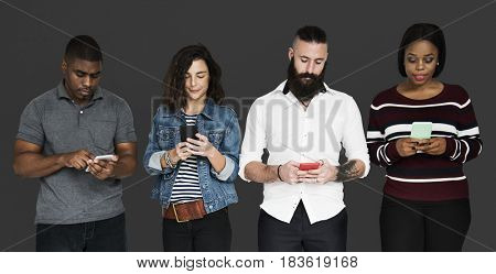 Smartphone Connection Internet Wireless Technology