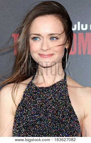 LOS ANGELES - APR 25:  Alexis Bledel at the Premiere Of Hulu's