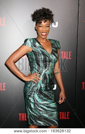 LOS ANGELES - APR 25:  Samira Wiley at the Premiere Of Hulu's
