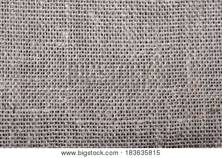 Sackcloth texture background. Natural fabric linen texture for design, sackcloth textured. Brown canvas background. Cotton.