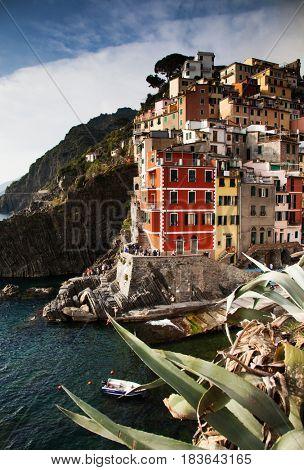 travel amazing Italy series - Riomaggiore, Cinque Terre national park, Liguaria