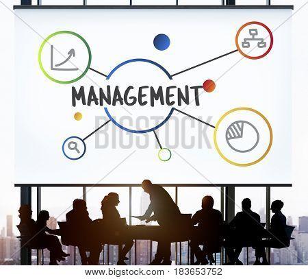 Business Management Administration Organization Concept