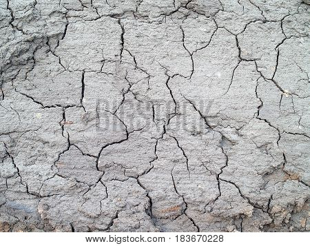 cracked soil texture background, soil during drought the effects of global warming