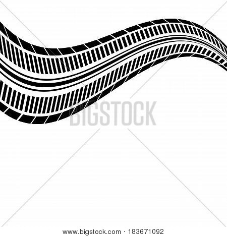 abstract background tire design vector, eps10 illustration