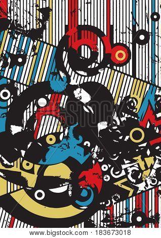 contemporary art background
