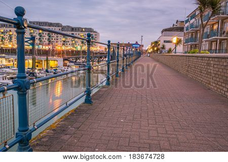 Brighton Marina new luxury residence area in Brighton East Sussex UK