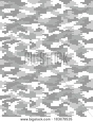Seamless of digital fashion camouflage pattern, illustration