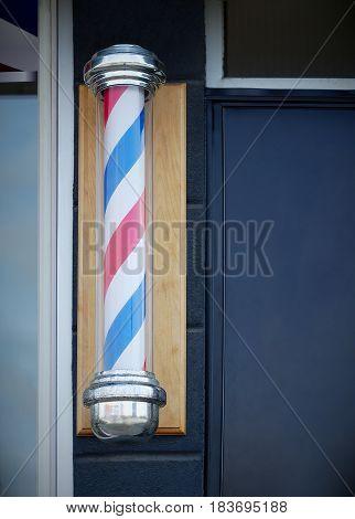 barber shop pole vintage sign classic hairdresser