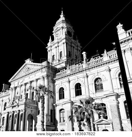 In South Africa Close Up Of The    City Hall