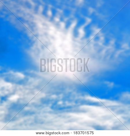 Nature Cloud Light And Empty Sky