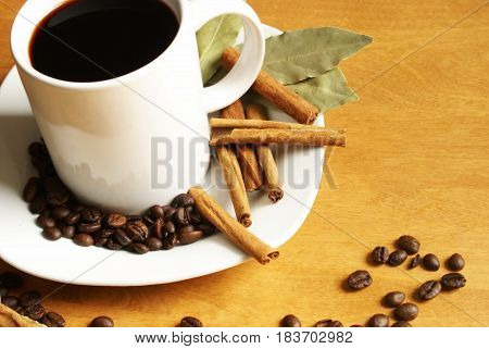 One image of a series pertaining to a simple image theme based on the coffee delights of our culture these days.