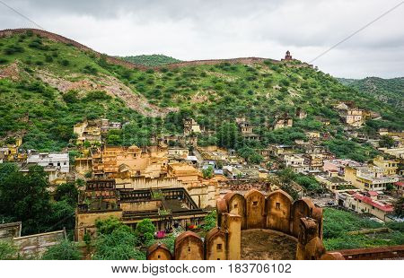 Amer Fort In Jaipur, India