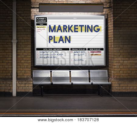 Digital Marketing Plan Planer Calendar Schedule