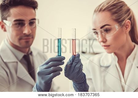 At The Laboratory