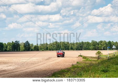 The Truck In The Field