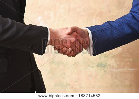 Business Man Deal Concept