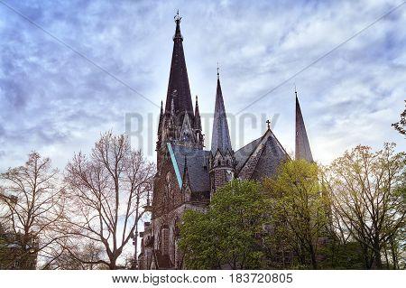Hdr Photo Of An Old Church In Berlin Kreuzberg