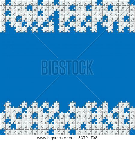 Puzzle pattern Vector illustration. Eps 10. Game concept