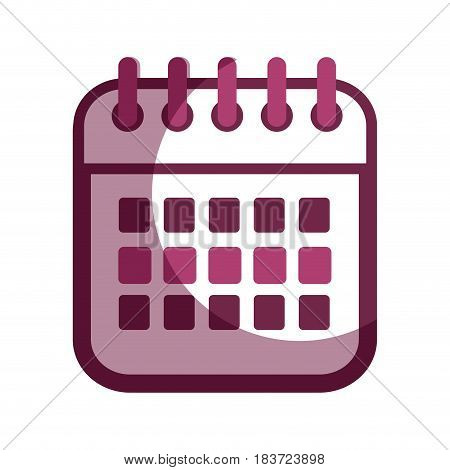 contour calendar date remember business events, vector illustration