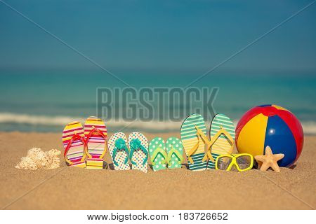 Summer Vacation Concept