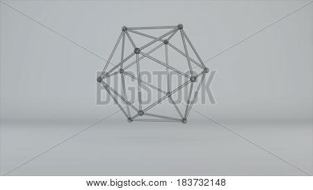 Glass Model Of Molecular Lattice