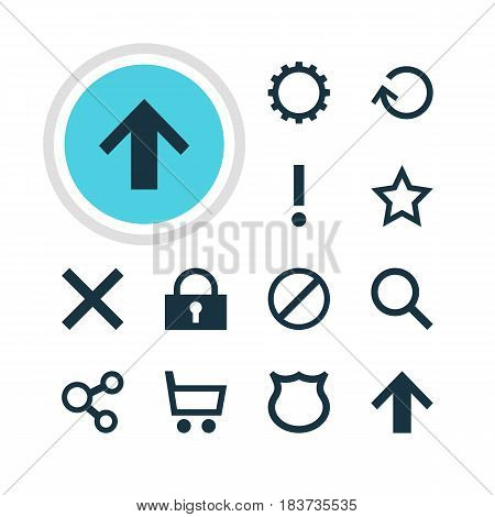 Vector Illustration Of 12 Member Icons. Editable Pack Of Seek, Top, Publish And Other Elements.