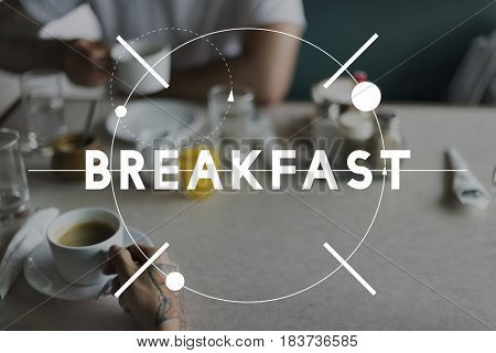 Breakfast Food Meal Healthy Plate Eating