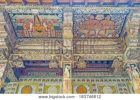 Paintings On The Ceiling