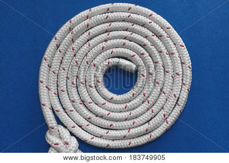 the Coil Rope round spiral close up