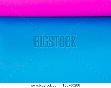 texture of Blue and pink paper, background.