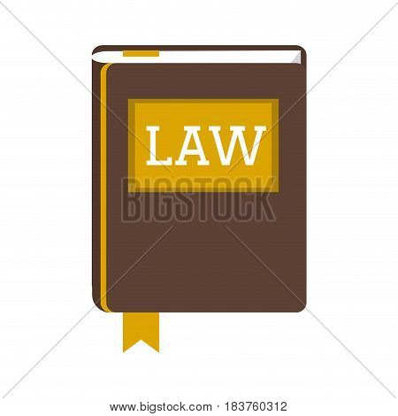 book or constitution law and justice icon image vector illustration design