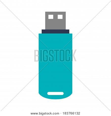 usb drive icon image vector illustration design