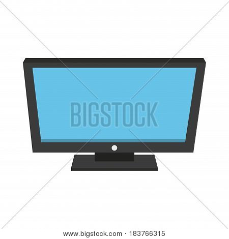 computer monitor icon image vector illustration design