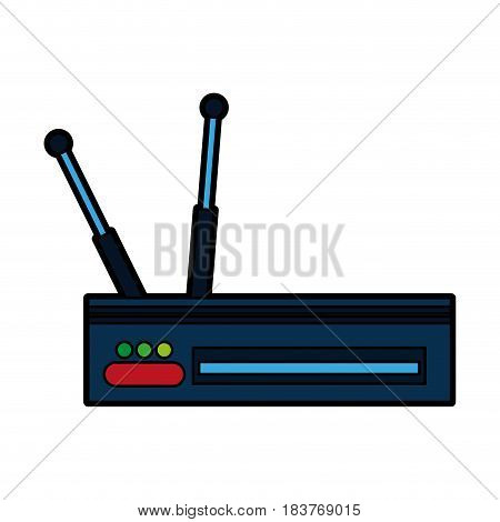 wifi router icon image vector illustration design