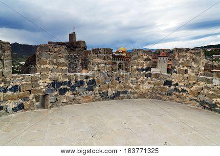 On The Tower Of Rabati Castle In Akhaltsikhe, Georgia