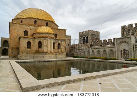 Mosque In Rabati Castle In Akhaltsikhe, Georgia