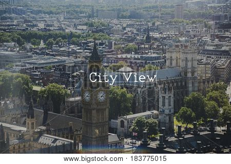 City Scape View London Concept