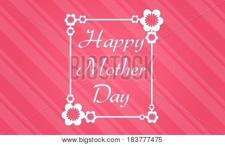 Collection stock mother day theme background vector art