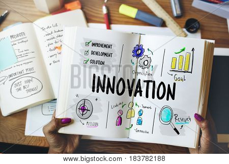 Innovation Business Process Diagram Icon