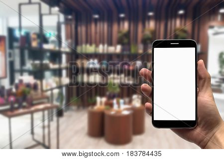 Blurred photo, Blurry image, Gift Shop, background