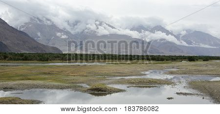 Mountain Scenery In Ladakh, India