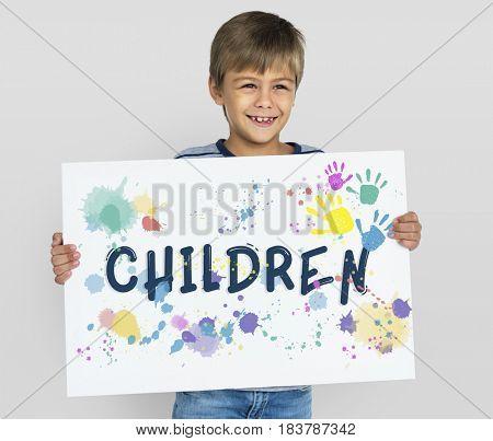 Children Generation Offspring Young Boy Girl