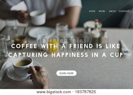 Coffee Cafe Drinking Beverage Enjoyment